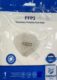 Μάσκα FFP3 NR Χωρίς Βαλβίδα Εκπνοής 1 Τεμάχιο