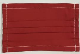 Υφασμάτινη Anosia Bebe Μάσκα Βαμβακερή Με Έλασμα Στην Μύτη Κόκκινο - Ροζ - Jean 1 Τεμάχιο [Κόκκινο]