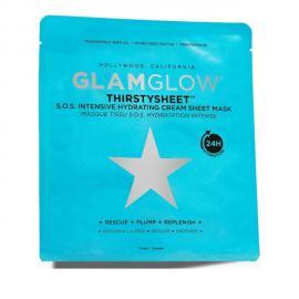 GLAMGLOW Thirstysheet S.O.S. Intensive Hydrating Sheet Mask, Υφασμάτινη Μάσκα Ενυδάτωσης -  1τεμ