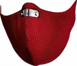 RespiShield Μέγεθος:S Επαναχρησιμοποιούμενη Μάσκα Μακράς Διαρκείας Χρώμα:Κόκκινο [PM2.5. PM10] 1 Τεμάχιο
