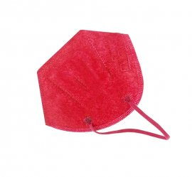 Μάσκα Υψηλής Προστασίας FFP2 ΚΝ95 Κόκκινη 20τμχ