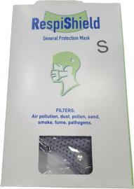 RespiShield Μάσκα γενικής προστασίας Small Γκρι 1τμχ