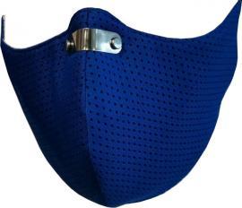 RespiShield Μέγεθος:L Χρώμα:Μπλέ Επαναχρησιμοποιούμενη Μάσκα Μακράς Διαρκείας [PM2.5. PM10] 1 Τεμάχιο