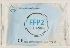Μάσκα FFP2 Γαλάζιο Protective Disposable Mask 5 Τεμάχια