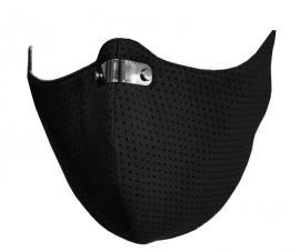 RespiShield Μάσκα γενικής προστασίας ΡΜ2.5 - PM10 Medium Μαύρη 1τμχ