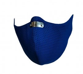RespiShield Μάσκα γενικής προστασίας ΡΜ2.5 - PM10 Extra Small Μπλέ 1τμχ