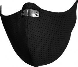 RespiShield Μέγεθος:L Χρώμα:Μαύρο Επαναχρησιμοποιούμενη Μάσκα Μακράς Διαρκείας [PM2.5. PM10] 1 Τεμάχιο