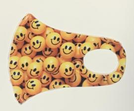 Nano Υφασμάτινη Παιδική Μάσκα Προσώπου Με Ραφή Πολλαπλών Χρήσεων Smile Face 1 Τεμάχιο