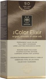 APIVITA My Color Elixir, Βαφή Μαλλιών No 9.0 - Ξανθό Πολύ Ανοιχτό