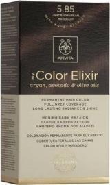 APIVITA My Color Elixir, Βαφή Μαλλιών No 5.85 - Καστανό Ανοιχτό Περλέ Μαονί