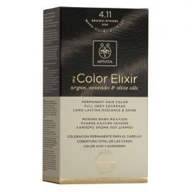 APIVITA My Color Elixir, Βαφή Μαλλιών No 4.11 - Καστανό `Εντονο Σαντρέ