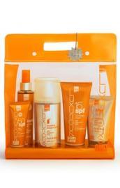 INTERMED Luxurious Sun Care Medium Protection Πακέτο Αντιηλιακής Προστασίας με Υαλουρονικό Οξύ