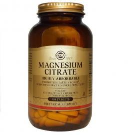 SOLGAR Magnesium Citrate 200mg - 120tabs
