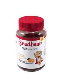 Bradex Bradbear Multivitamins Παιδικές Πολυβιταμίνες με Γεύση Πορτοκάλι 60 Gummy Bears