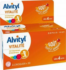 Alvityl Vitalite Multivitamin Kids 30tabs