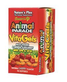NATURE`S PLUS Animal Parade Vitagels 90softgels