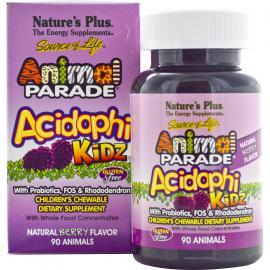 Nature`s Plus Animal Parade Acidophikidz 90tabs