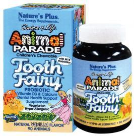 NATURE`S PLUS Animal Parade Tooth Fairy 90μασώμενες ταμπλέτες