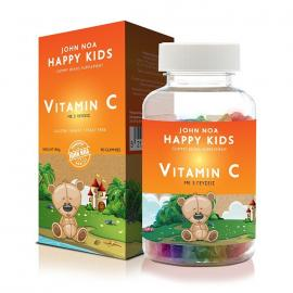 John Noas Happy Kids Vitamin C, 90 ζελεδάκια