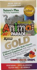 Nature`s Plus Animal Parade Gold Assorted 60tabs