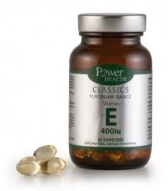 Power Health Vitamin E 400 iu 30 cap