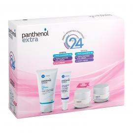 Panthenol Extra Set Face Cleansing Gel 150ml & Triple Defense Eye Cream 25ml & Day Cream Spf15 50ml & Night Cream 50ml