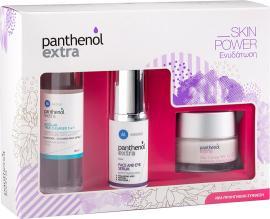 Panthenol Extra Promo Face & Eye Serum Αντιρυτιδικός Ορός Προσώπου & Ματιών, 30ml & ΔΩΡΟ Micellar True Cleanser 3 in 1 Καθαριστική Λοσιόν Προσώπου & Ματιών, 100ml & Day SPF15 Cream Ενυδ