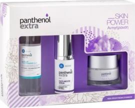 Panthenol Extra Promo Face & Eye Cream Αντιρυτιδική Κρέμα Προσώπου & Ματιών 50ml & Face & Eye Serum Αντιρυτιδικός Ορός Προσώπου & Ματιών 30ml & Micellar True Cleanser 3in1 Καθαριστικ