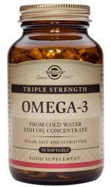 SOLGAR Omega-3 triple strength 3x50softgels