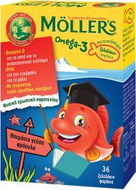 Moller`s Omega-3 Kids 36 Strawberry Gummies