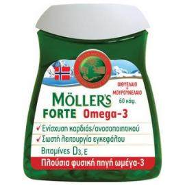 Moller`s Forte Omega-3 60caps