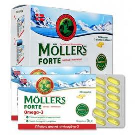 Moller`s Forte Omega-3 150caps