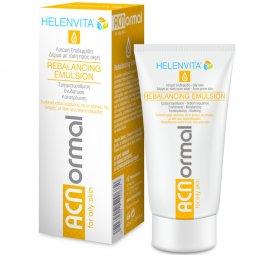 Helenvita Acnormal Rebalancing Emulsion - Ενυδατική Κρέμα Προσώπου για Λιπαρή Επιδερμίδα με τάση Ακμής 60ml