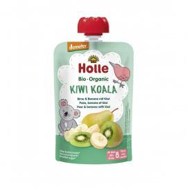 Holle Πουρές μπανάνα, ακτινίδιο & αχλάδι 6μ+ 100gr