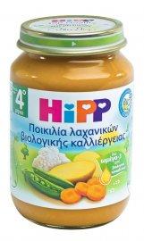 Hipp Γεύμα Ποικιλίας Λαχανικών Βιολογικής Καλλιέργειας Μετά τον 4ο Μήνα 190gr