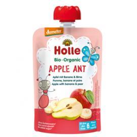Holle Πουρές μήλο, μπανάνα & αχλάδι 6μ+ 100gr