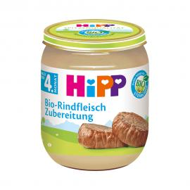 Hipp Γεύμα υποαλλεργικό με βιολογικό μοσχαράκι απο τον 4ο μήνα 125gr