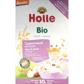 Holle Βιολογικό τζούνιορ Μουσλι Πολύσπορο με φρούτα από τον 10ο Μήνα 250gr