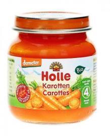 HOLLE  Βρεφικό γεύμα με καρότο σε βάζο 125g