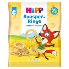 Hipp Παιδικά Τραγανά Τυροδαχτυλίδια 1-3 Ετών 25gr