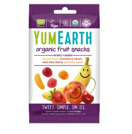 Yumearth Organic Fruit Snacks Βιολογικά Σνακ Φρούτων 50gr