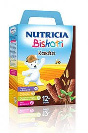 Nutricia - Biskotti Κακάο 12m+ 32 μπισκότα, 180gr