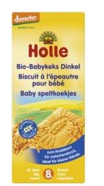Holle Μπισκότα Οδοντοφυΐας Ντίνκελ Από 8 Μηνών & Άνω 150gr