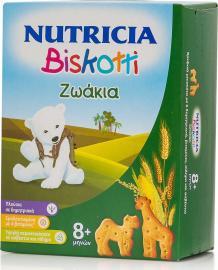 Nutricia Biskotti Ζωάκια 8m+, 180gr