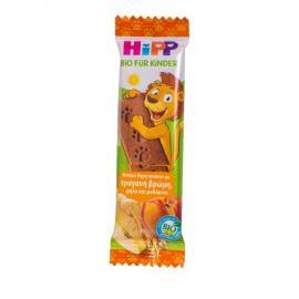 Hipp Παιδική Μπάρα Δημητριακών με Τραγανή Βρώμη Μήλο και Ροδάκινο 20gr