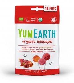 Yumearth Organic Pops Βιολογικά Γλειφιτζούρια Φρούτων 14τμχ