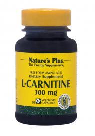 NATURE`S PLUS L-Carnitine 300mg 30vcaps