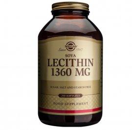 SOLGAR LECITHIN 1360MG SOFTGELS 250S
