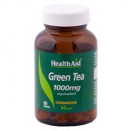 HEALTH AID GREEN TEA EXTRACT 100MG TABLETS 60`S