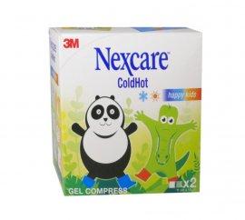 3M Nexcare Cold Hot Happy Kids Παγοκύστη και Θερμοφόρα 11cm Χ 12cm 2τμχ